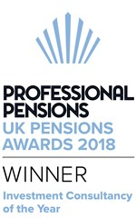 Professional Pensions Investment Consultancy of the year 2018